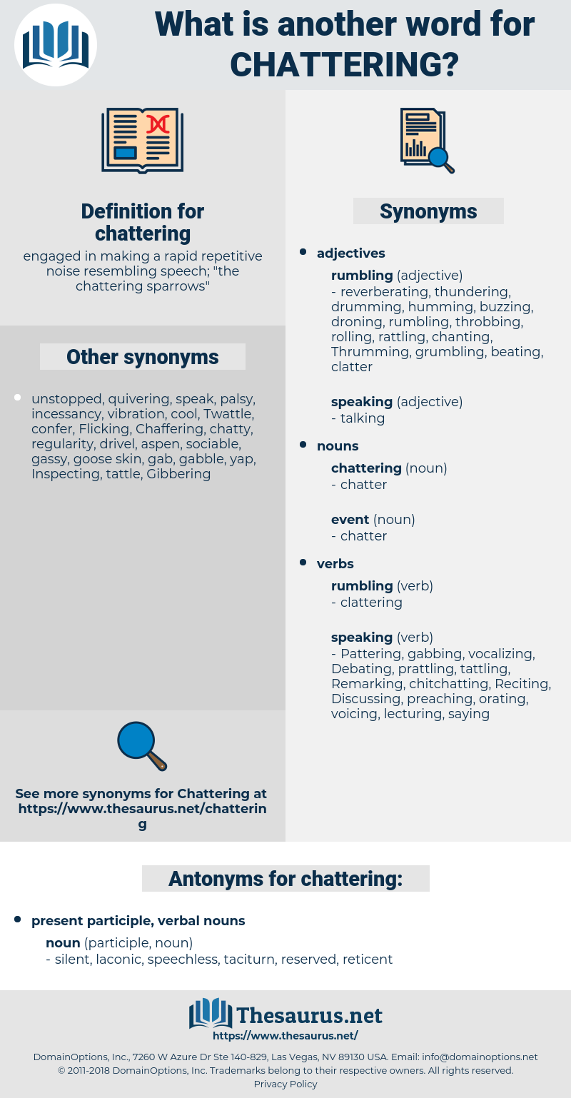 chattering, synonym chattering, another word for chattering, words like chattering, thesaurus chattering