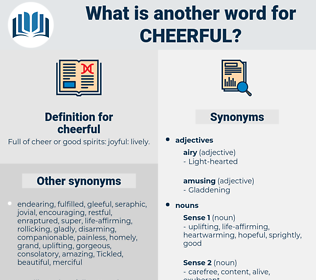 cheerful, synonym cheerful, another word for cheerful, words like cheerful, thesaurus cheerful