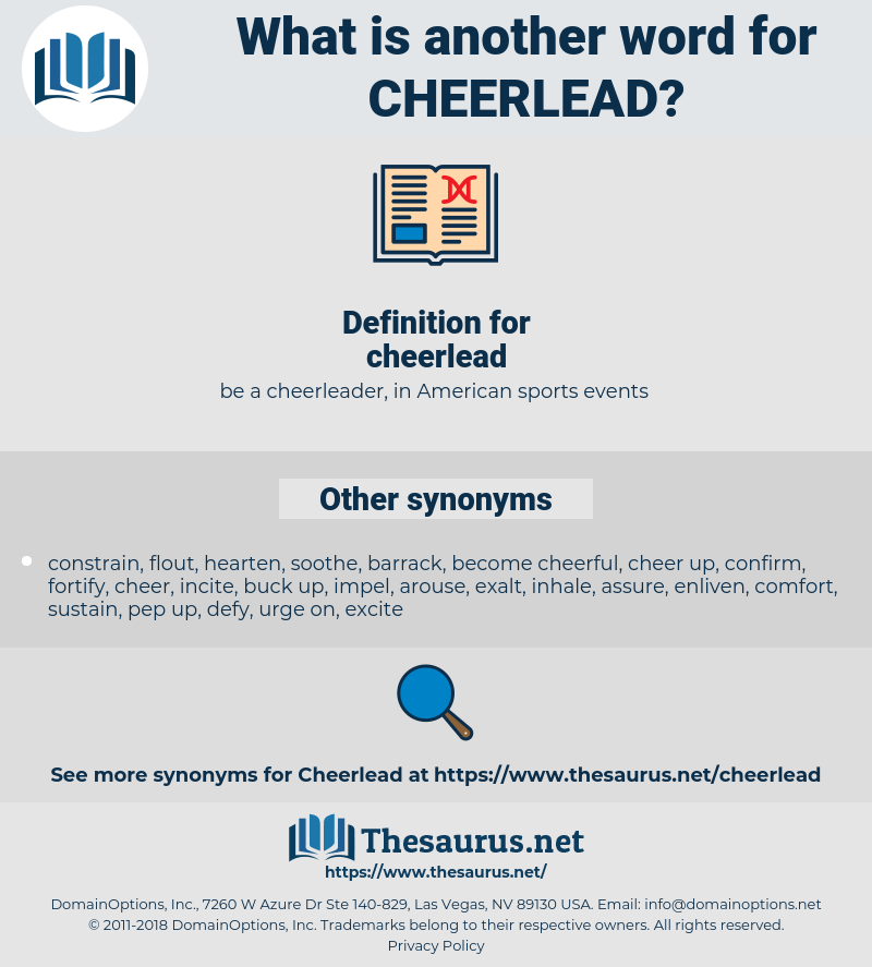 cheerlead, synonym cheerlead, another word for cheerlead, words like cheerlead, thesaurus cheerlead