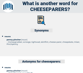 cheeseparers, synonym cheeseparers, another word for cheeseparers, words like cheeseparers, thesaurus cheeseparers