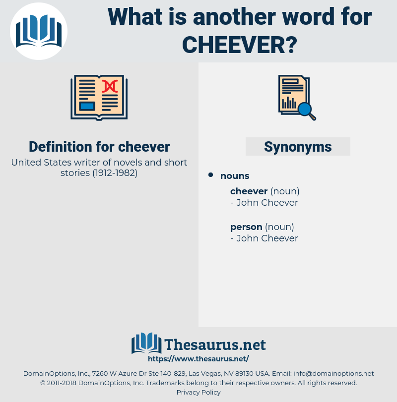 cheever, synonym cheever, another word for cheever, words like cheever, thesaurus cheever