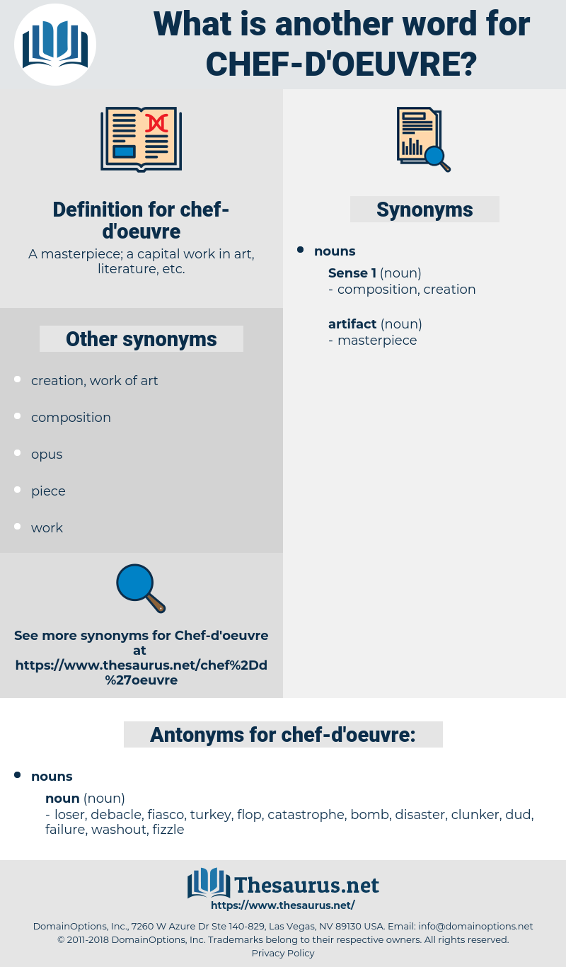 chef d'oeuvre, synonym chef d'oeuvre, another word for chef d'oeuvre, words like chef d'oeuvre, thesaurus chef d'oeuvre
