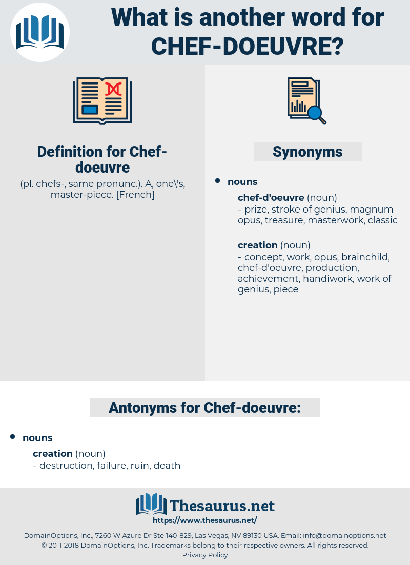 chef doeuvre, synonym chef doeuvre, another word for chef doeuvre, words like chef doeuvre, thesaurus chef doeuvre