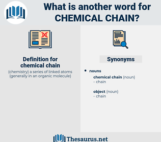 chemical chain, synonym chemical chain, another word for chemical chain, words like chemical chain, thesaurus chemical chain