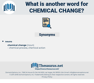 chemical change, synonym chemical change, another word for chemical change, words like chemical change, thesaurus chemical change