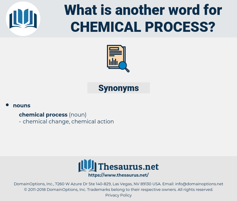 chemical process, synonym chemical process, another word for chemical process, words like chemical process, thesaurus chemical process