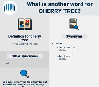 cherry tree, synonym cherry tree, another word for cherry tree, words like cherry tree, thesaurus cherry tree