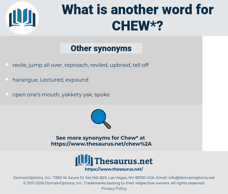 chew, synonym chew, another word for chew, words like chew, thesaurus chew