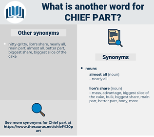 chief part, synonym chief part, another word for chief part, words like chief part, thesaurus chief part