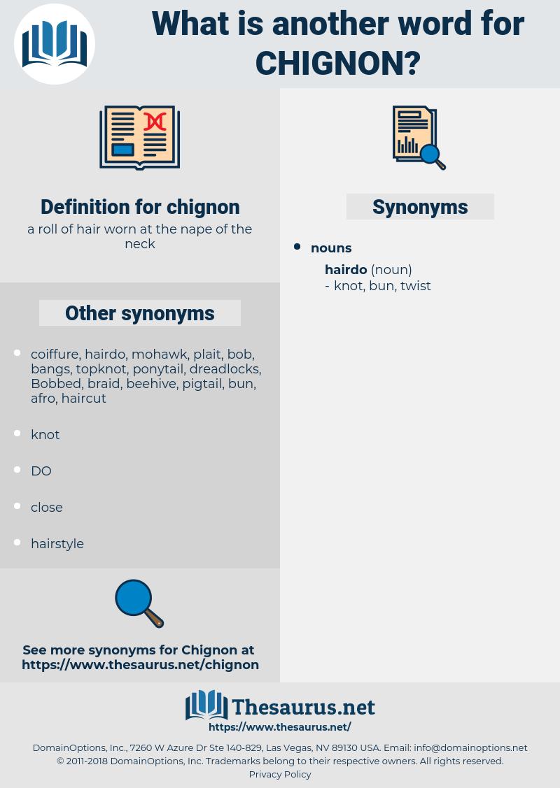 chignon, synonym chignon, another word for chignon, words like chignon, thesaurus chignon