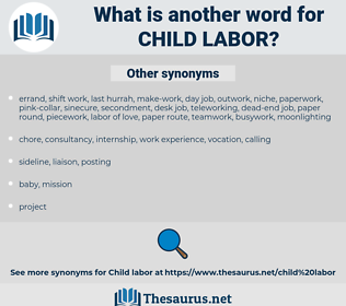 Child Labor, synonym Child Labor, another word for Child Labor, words like Child Labor, thesaurus Child Labor