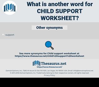 child support worksheet, synonym child support worksheet, another word for child support worksheet, words like child support worksheet, thesaurus child support worksheet