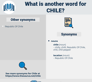 chile, synonym chile, another word for chile, words like chile, thesaurus chile
