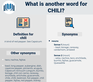 chili, synonym chili, another word for chili, words like chili, thesaurus chili