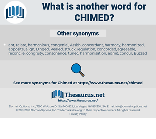 Chimed, synonym Chimed, another word for Chimed, words like Chimed, thesaurus Chimed