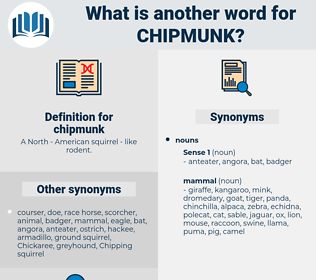 chipmunk, synonym chipmunk, another word for chipmunk, words like chipmunk, thesaurus chipmunk