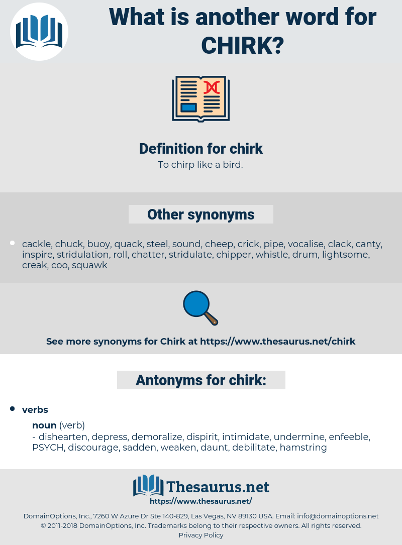 chirk, synonym chirk, another word for chirk, words like chirk, thesaurus chirk
