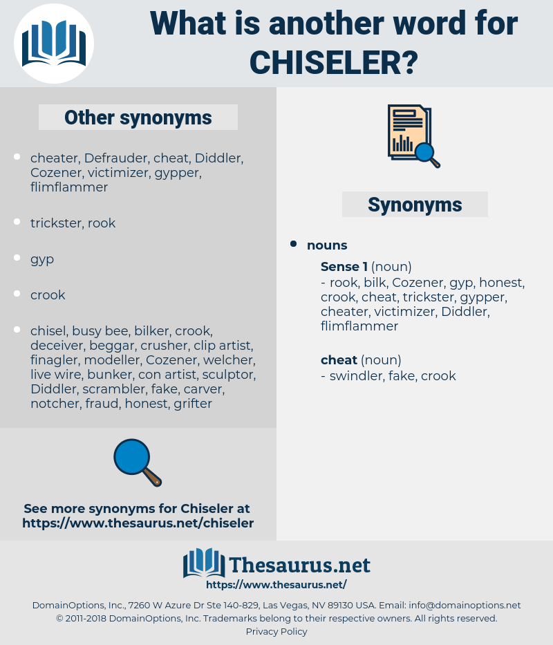 chiseler, synonym chiseler, another word for chiseler, words like chiseler, thesaurus chiseler