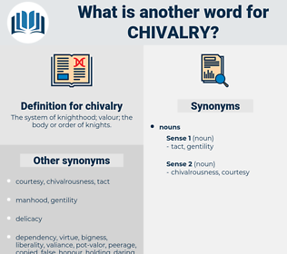 chivalry, synonym chivalry, another word for chivalry, words like chivalry, thesaurus chivalry