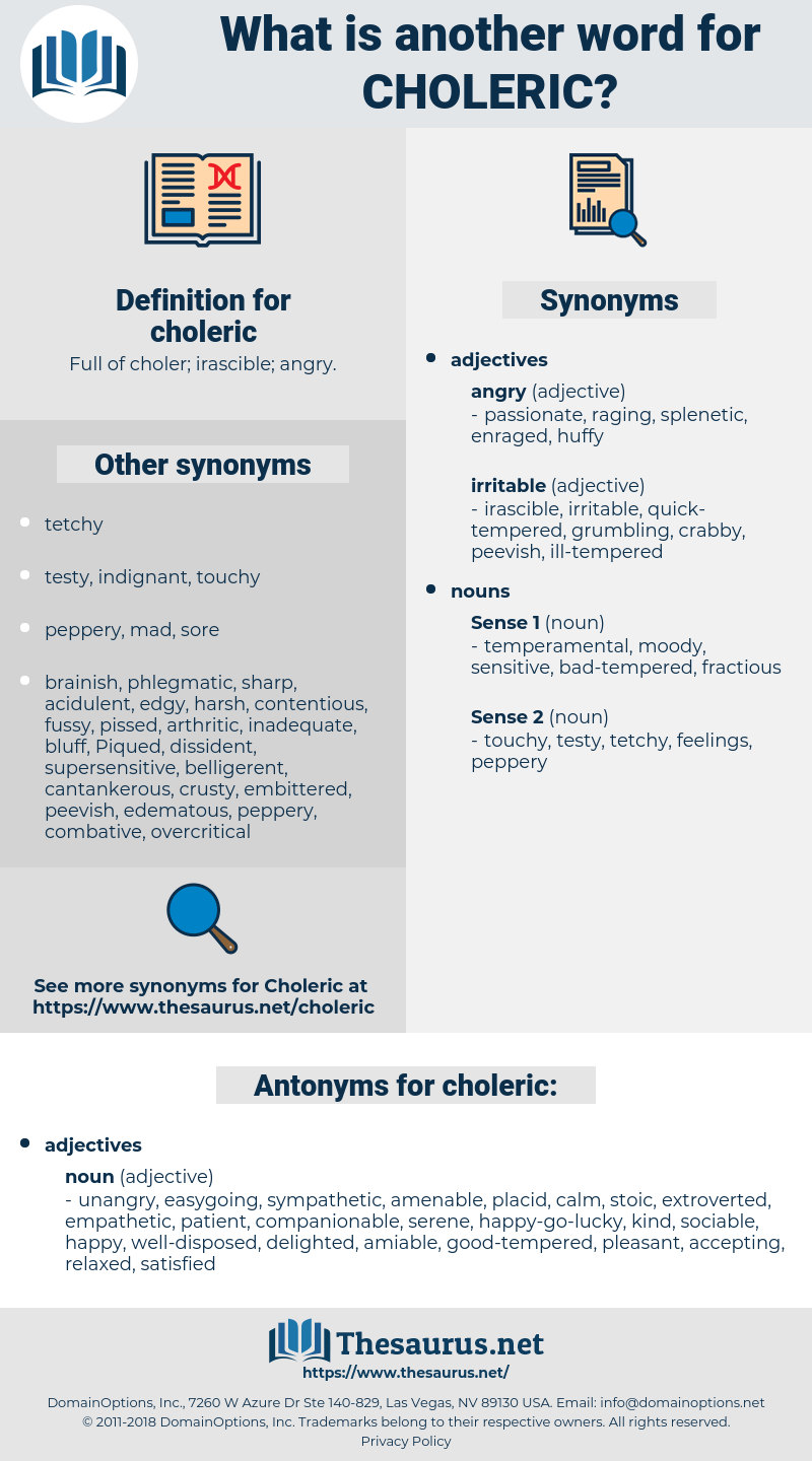 choleric, synonym choleric, another word for choleric, words like choleric, thesaurus choleric