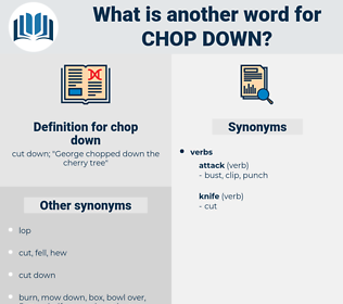 chop down, synonym chop down, another word for chop down, words like chop down, thesaurus chop down