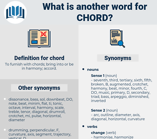 chord, synonym chord, another word for chord, words like chord, thesaurus chord