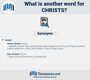 christs, synonym christs, another word for christs, words like christs, thesaurus christs