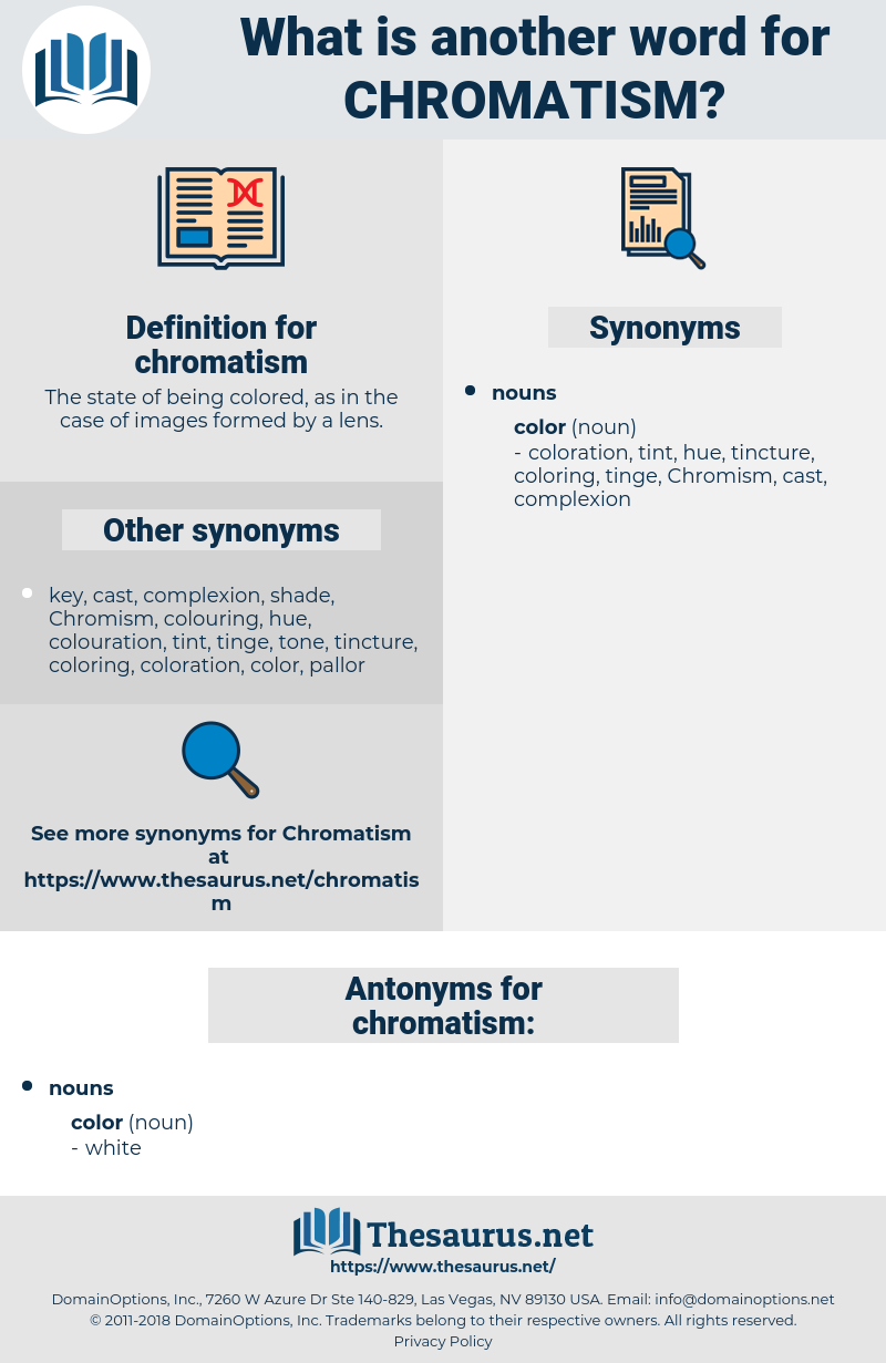 chromatism, synonym chromatism, another word for chromatism, words like chromatism, thesaurus chromatism