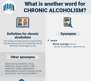 chronic alcoholism, synonym chronic alcoholism, another word for chronic alcoholism, words like chronic alcoholism, thesaurus chronic alcoholism