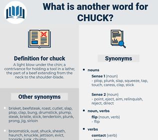 chuck, synonym chuck, another word for chuck, words like chuck, thesaurus chuck
