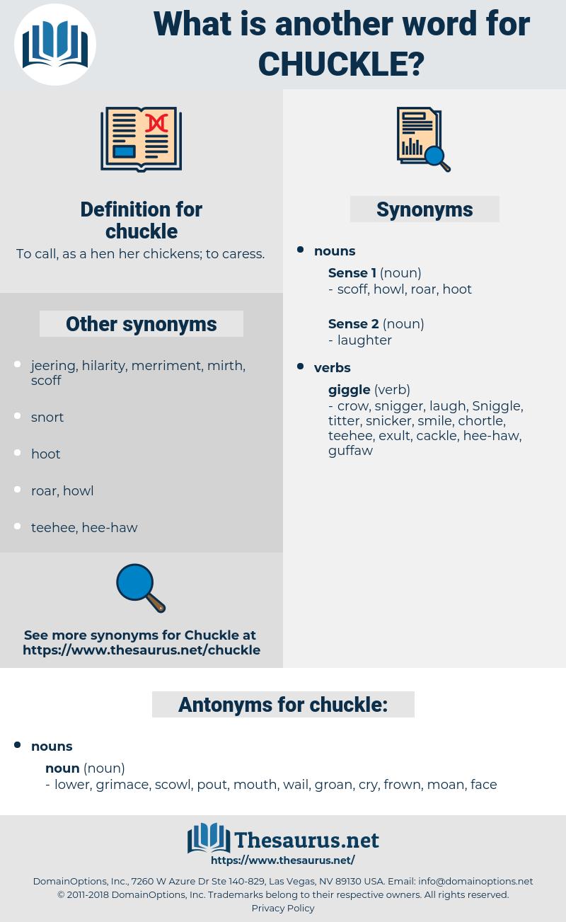 chuckle, synonym chuckle, another word for chuckle, words like chuckle, thesaurus chuckle