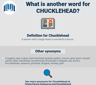 Chucklehead, synonym Chucklehead, another word for Chucklehead, words like Chucklehead, thesaurus Chucklehead