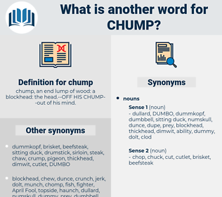 chump, synonym chump, another word for chump, words like chump, thesaurus chump