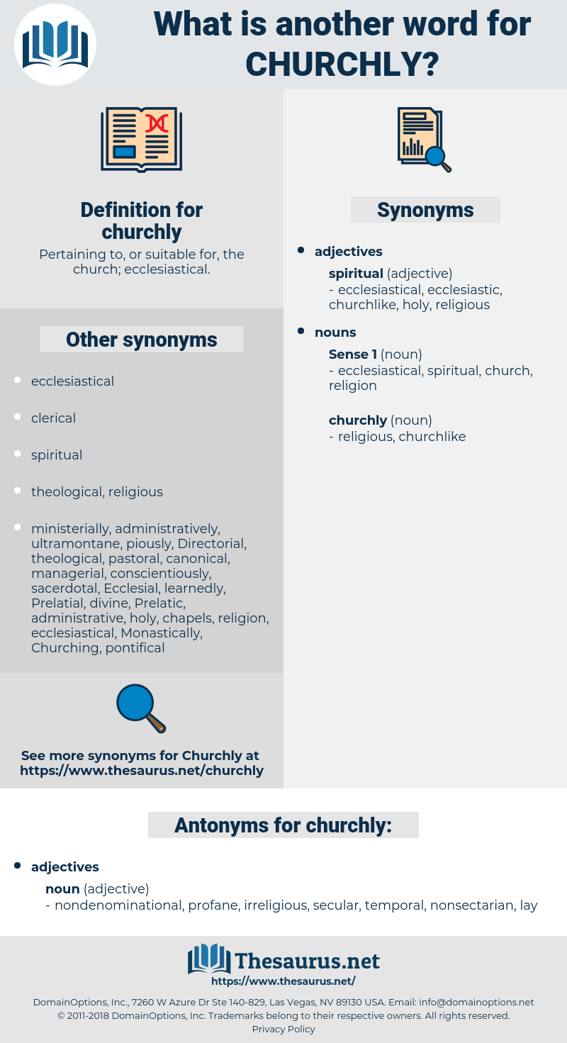 churchly, synonym churchly, another word for churchly, words like churchly, thesaurus churchly