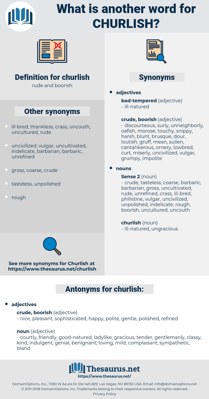 churlish, synonym churlish, another word for churlish, words like churlish, thesaurus churlish