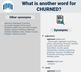 Churned, synonym Churned, another word for Churned, words like Churned, thesaurus Churned