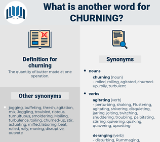 churning, synonym churning, another word for churning, words like churning, thesaurus churning