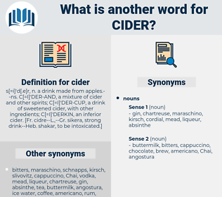 cider, synonym cider, another word for cider, words like cider, thesaurus cider