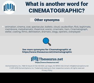 cinematographic, synonym cinematographic, another word for cinematographic, words like cinematographic, thesaurus cinematographic