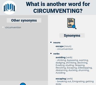 Circumventing, synonym Circumventing, another word for Circumventing, words like Circumventing, thesaurus Circumventing