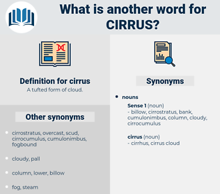 cirrus, synonym cirrus, another word for cirrus, words like cirrus, thesaurus cirrus