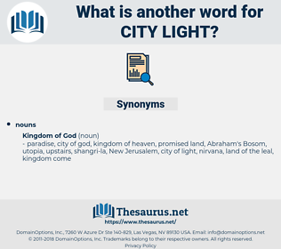 city light, synonym city light, another word for city light, words like city light, thesaurus city light