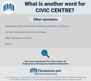 civic centre, synonym civic centre, another word for civic centre, words like civic centre, thesaurus civic centre