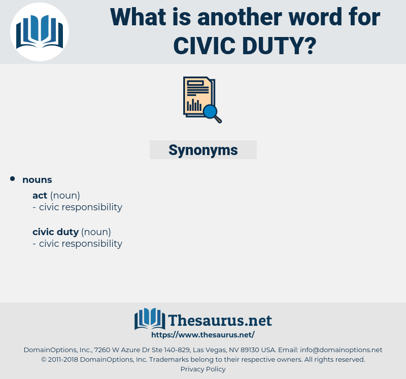 civic duty, synonym civic duty, another word for civic duty, words like civic duty, thesaurus civic duty
