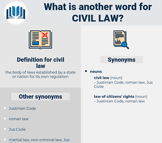 civil law, synonym civil law, another word for civil law, words like civil law, thesaurus civil law