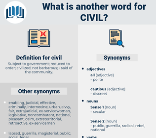 civil, synonym civil, another word for civil, words like civil, thesaurus civil