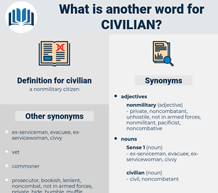 civilian, synonym civilian, another word for civilian, words like civilian, thesaurus civilian