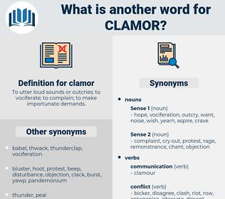 clamor, synonym clamor, another word for clamor, words like clamor, thesaurus clamor