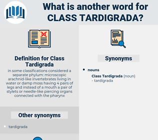 Class Tardigrada, synonym Class Tardigrada, another word for Class Tardigrada, words like Class Tardigrada, thesaurus Class Tardigrada