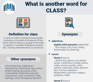 class, synonym class, another word for class, words like class, thesaurus class